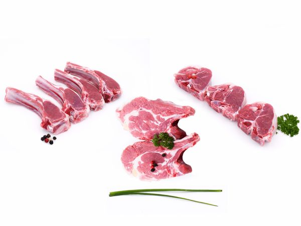 Côte d'agneau** Français Découverte, Filet ou Première x 8