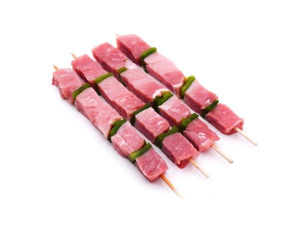 Brochettes de porc français x 8